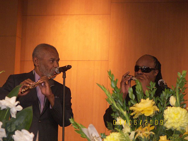 Hubert Laws, Stevie Wonder