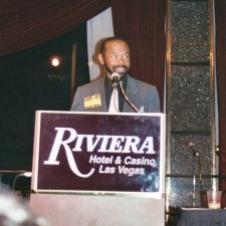 Hubert Laws receiving the National Flute Association's Lifetime Achievement Award 2003