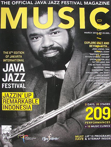 Hubert Laws, Java Jazz Fest